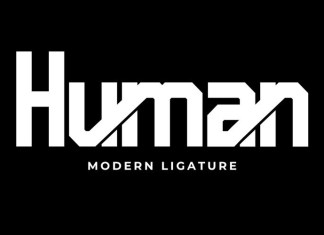 Human Display Font