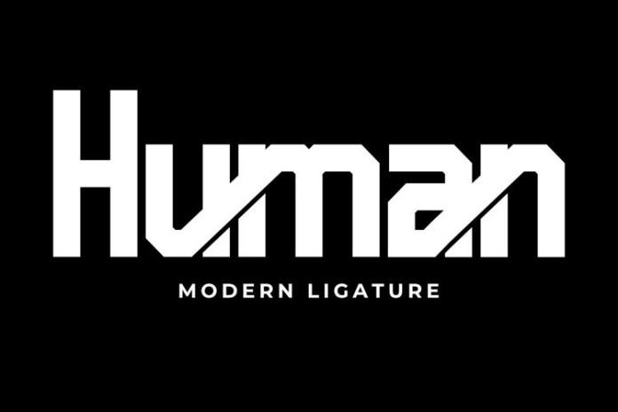 Human Display Font
