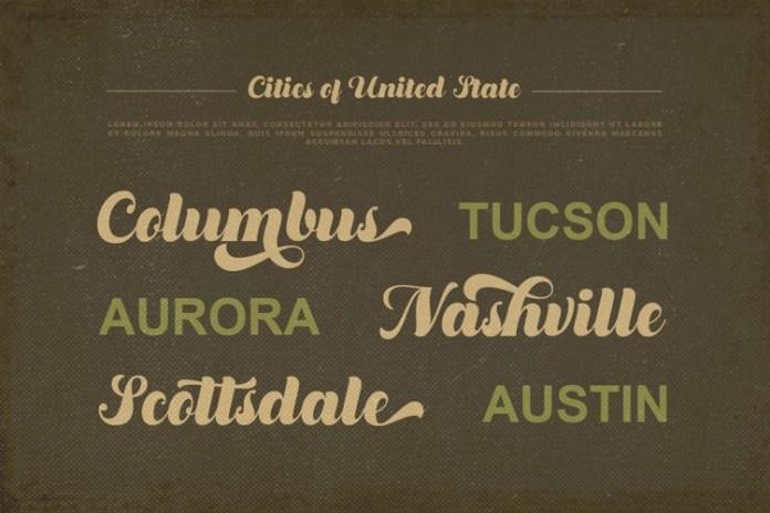 Dustland Font