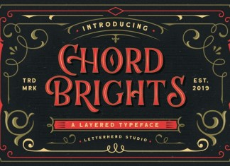 Chord Brights Display Font