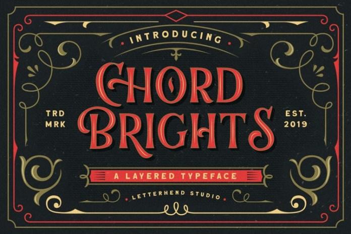 Chord Brights Display Font