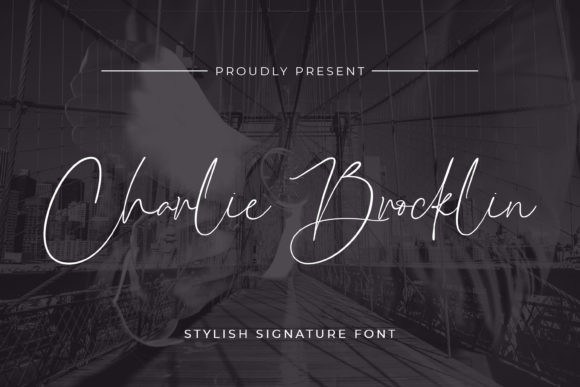 Charlie Brocklin Script Font