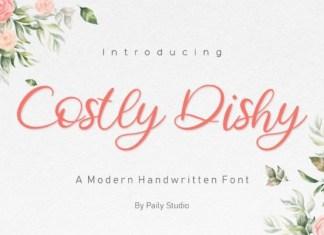Costly Dishy Script Font
