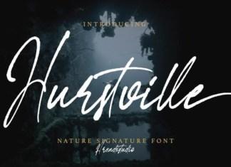 Hurstville Script Font