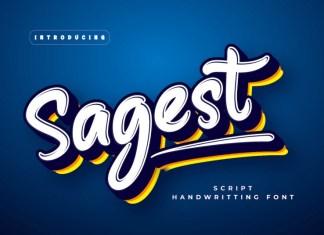 Sagest Display Font