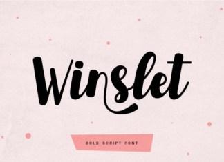 Winslet Script Font