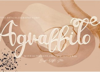 Agraffito Calligraphy Font