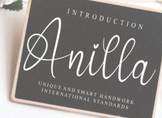 Anilla Font