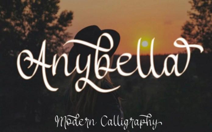 Anybella Script Font