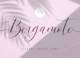 Bergamote Calligraphy Font