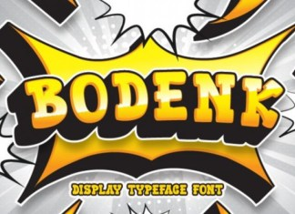 Bodenk Display Font
