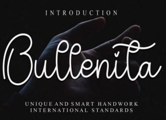 Bullenita Font