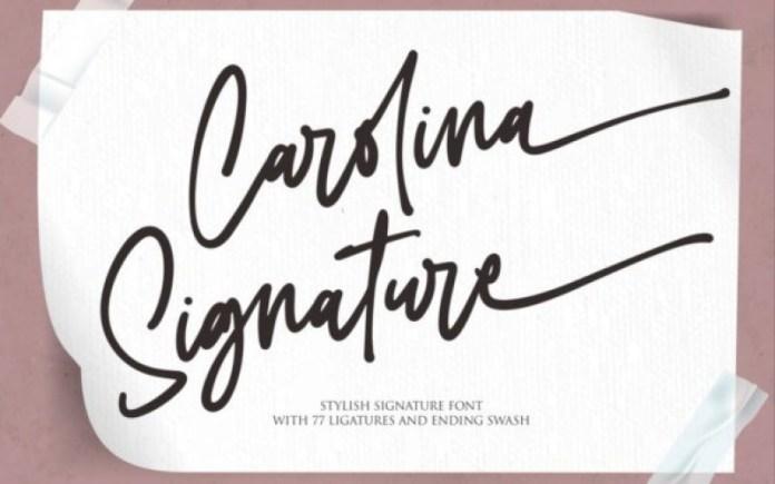 Carolina Font