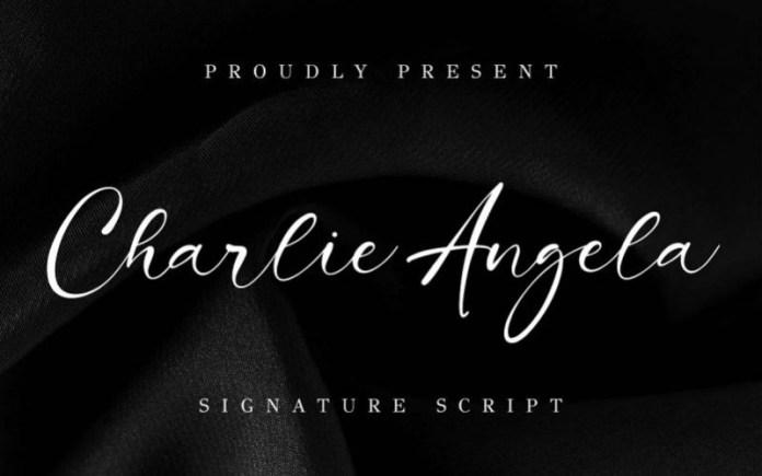 Charlie Angela Script Font