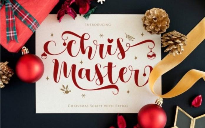 Chris Master Calligraphy Font
