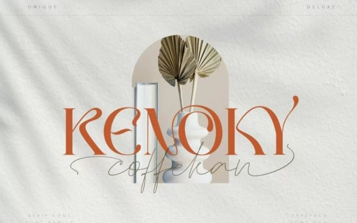 Coffekan Handwritten Font