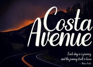 Costa Avenue Font