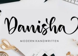 Danisha Script Font