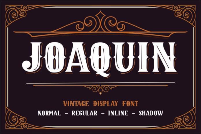 JOAQUIN Display Font