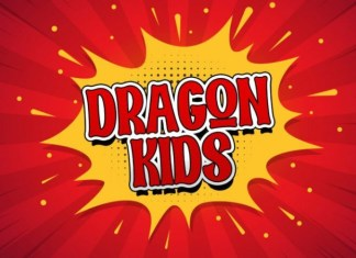 Dragon Kids Display Font