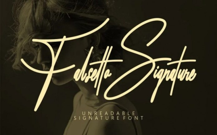 Falsetto Signature Script Font