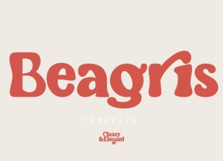 Beagris Display Font