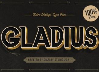 Gladius Sans Serif  Font