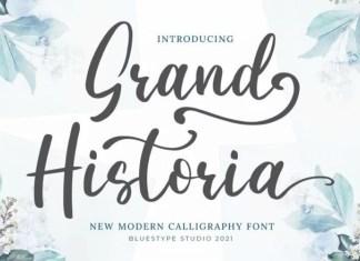 Grand Historia Script Font