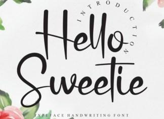 Hello Sweetie Font