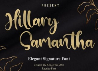 Hillary Samantha Script Font