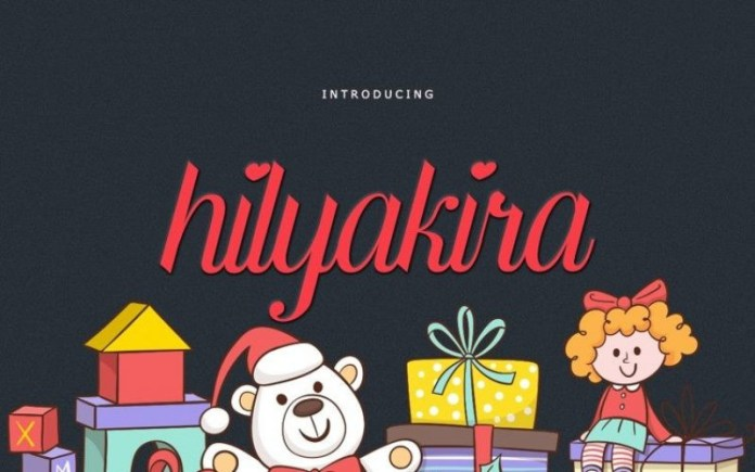Hilyakira Calligraphy Font
