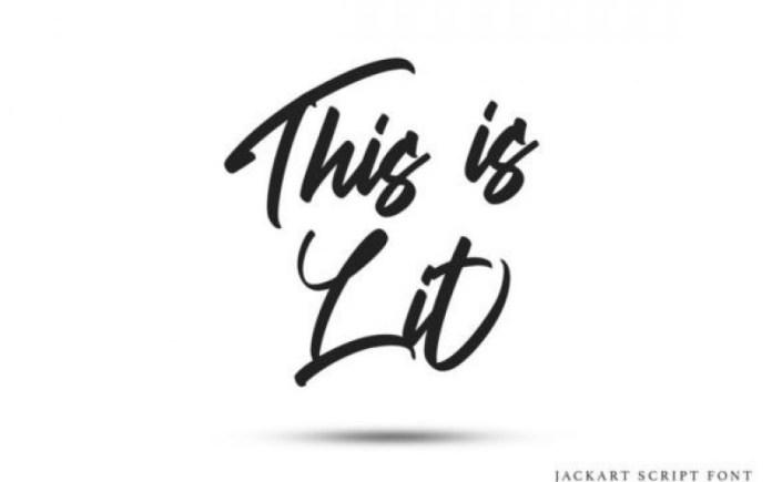 Jackart Script Font