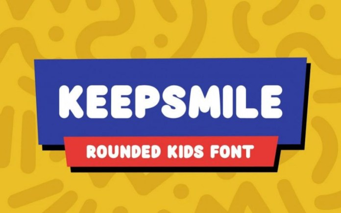 Keepsmile Display Font