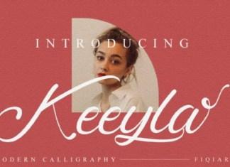 Keeyla Script Font