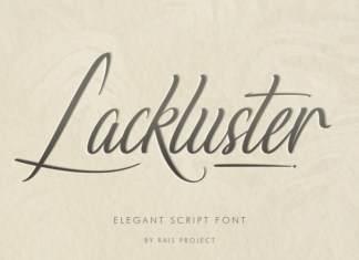 Lackluster Script Font