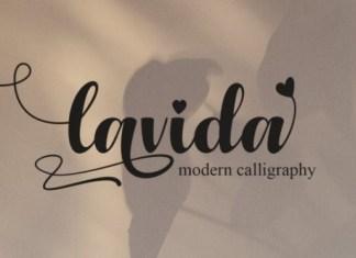 Lavida Script Font