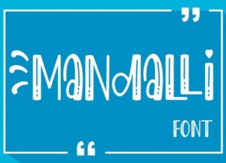 Mandalli Display Font