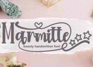 Marmitte Script Font
