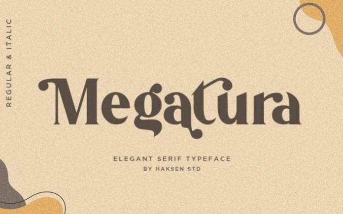 Megatura Font