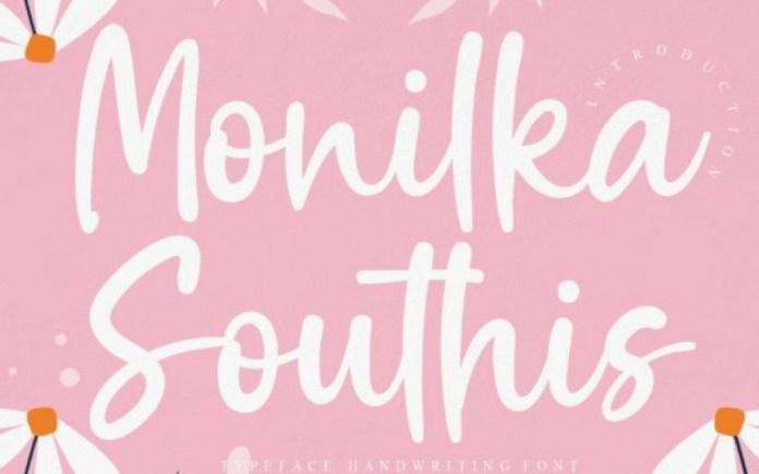 Monilka Southis Script Font