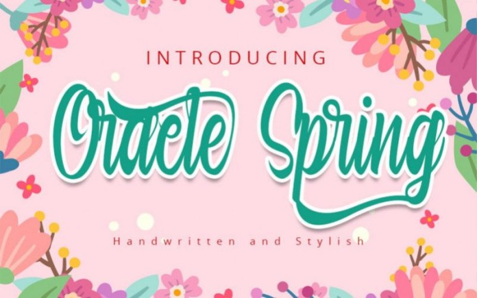 Oracle Spring Font