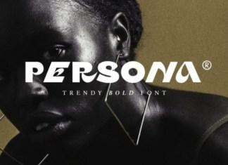 Persona Display Font