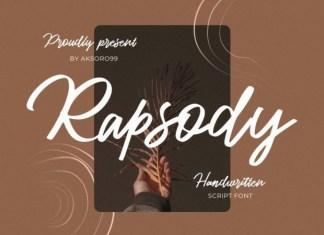 Rapsody Script Font