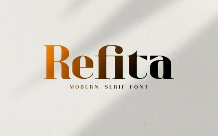 Refita Serif Font
