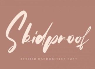 Skidproof Font