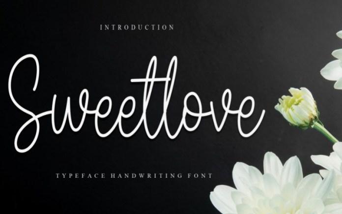 Sweetlove Font