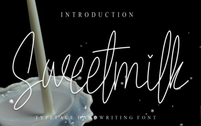 Sweetmilk Font