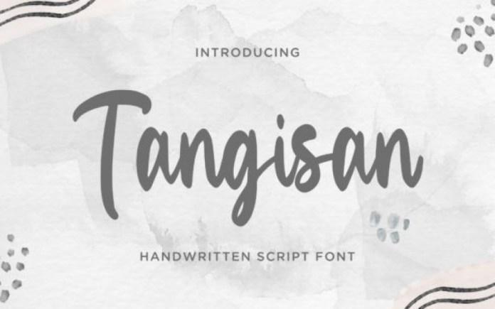 Tangisan Trial Font