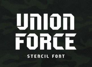 Unione Force Font