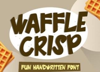 Waffle Crisp Display Font